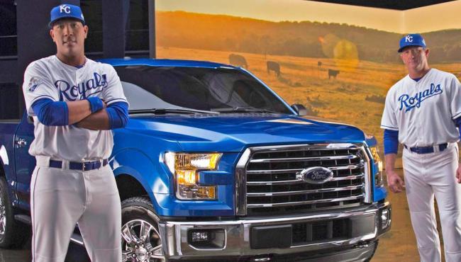 Ford F150 MVP Edition Kansas City Royals